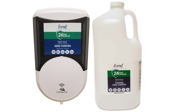 LIQUID WALL DISPENSER: INDIVIDUAL OR BUNDLED WITH SANITIZER